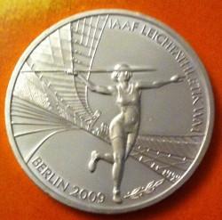 Moeda > 10euro, 2009 - Alemanha  (XII Campeonato Mundial de Atletismo, Berlim 2009) - reverse
