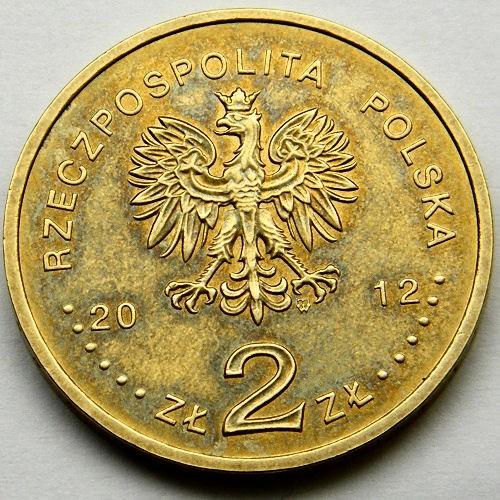 Destroyer UNC #355 Poland 2 zloty 2012 Piorun
