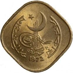 Mynt > 5paisa, 1964-1974 - Pakistan  - obverse