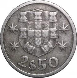 Coin > 2.5escudos, 1963-1985 - Portugal  - reverse