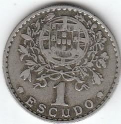 Монета > 1ескудо, 1927-1968 - Португалия  - reverse