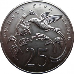 Mynt > 25cents, 1971-1984 - Jamaica  - reverse