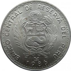 Moeda > 1inti, 1985-1988 - Peru  - obverse
