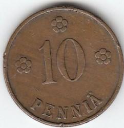 Münze > 10Penny, 1926 - Finnland  - reverse