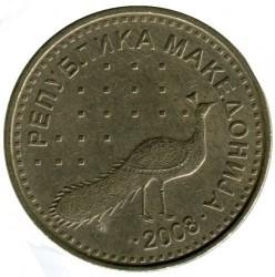 Monedă > 10denari, 2008-2017 - Macedonia  - obverse