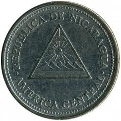 Moneda > 1córdoba, 1997-2000 - Nicaragua  - obverse