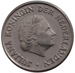 מטבע > 25סנט, 1950-1980 - הולנד  - obverse