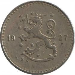 Münze > 25Penny, 1927 - Finnland  - obverse