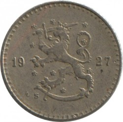Münze > 25Penny, 1927 - Finnland  - reverse