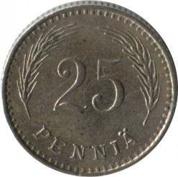 Münze > 25Penny, 1929 - Finnland  - obverse