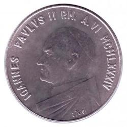 Minca > 10lire, 1984 - Vatikán  - obverse