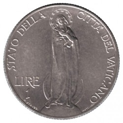Монета > 1лира, 1929-1937 - Ватикан  - reverse