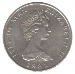 Moneta > 10pence, 1980-1983 - Isola di Man  - obverse