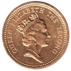 سکه > 1پوند, 1987-2000 - جزایر فالکلند  - obverse