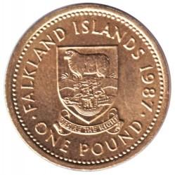 سکه > 1پوند, 1987-2000 - جزایر فالکلند  - reverse