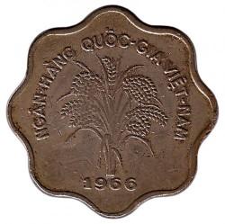 Монета > 5донга, 1966 - Южен Виетнам  - obverse