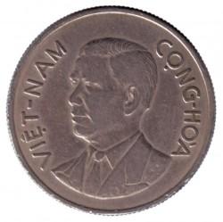Monedă > 1dong, 1960 - Vietnamul de Sud  - obverse