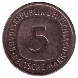 Münze > 5Mark, 1991 - Deutschland  - reverse