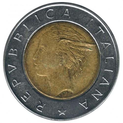 500 Lire 1982 2001 Italy Coin Value