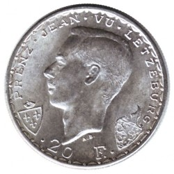 Moneta > 20franków, 1946 - Luksemburg  (600 rocznica śmierci - Jan Luksemburski) - reverse