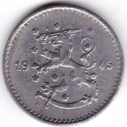 Münze > 1Mark, 1945 - Finnland  - reverse