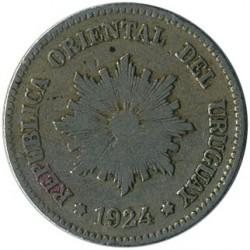 Νόμισμα > 2Σεντέσιμος, 1901-1941 - Ουρουγουάη  - obverse