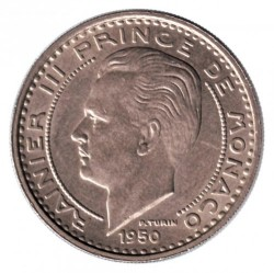 Moneta > 100franków, 1950 - Monako  - obverse