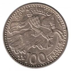 Moneta > 100franków, 1950 - Monako  - reverse