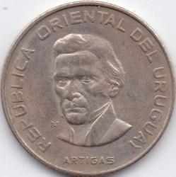 Moeda > 100pesos, 1973 - Uruguai  - obverse