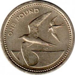 Монета > 1фунт, 1984 - Острова Святой Елены и Вознесения  - reverse