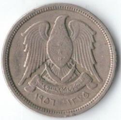 Moneta > 10piastrų, 1948-1956 - Sirija  - obverse