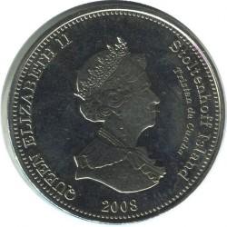 Moneta > 1korona, 2008 - Tristan da Cunha  (L'Heure du Berger (Wyspa Stoltenhoff)) - obverse