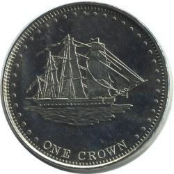 Moneta > 1korona, 2008 - Tristan da Cunha  (L'Heure du Berger (Wyspa Stoltenhoff)) - reverse