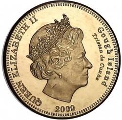 Moneta > 20pensów, 2009 - Tristan da Cunha  (Wydrzyk brunatny (Wyspa Gough)) - obverse