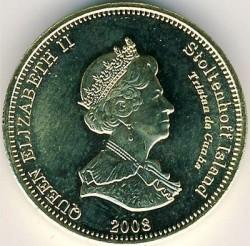 Moneta > 20pensów, 2008 - Tristan da Cunha  (HMS Satellite (Wyspa Stoltenhoff)) - obverse