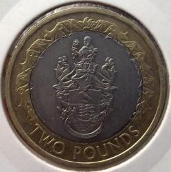 Монета > 2паунда, 2003-2006 - Свети Елена и Възнесение  - reverse