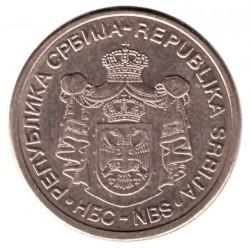 Монета > 10динара, 2006 - Сърбия  - obverse