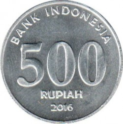 Pièce > 500roupies, 2016 - Indonésie  - obverse