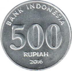 Pièce > 500roupies, 2016 - Indonésie  - reverse