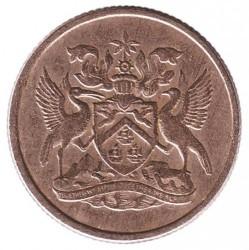 Monedă > 10cenți, 1966-1972 - Trinidad și Tobago  - obverse
