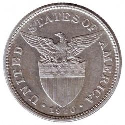 العملة > ٥٠سنتافو, 1907-1921 - الفلبين  - obverse