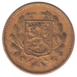 Münze > 5Mark, 1940 - Finnland  - obverse