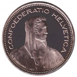 Moneta > 5franków, 2012 - Szwajcaria  - obverse