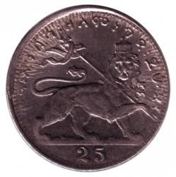 Кованица > 25матона, 1931 - Етиопија  - reverse