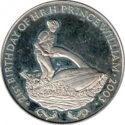 Moneda > 1000kwacha, 2003 - Zambia  (21 aniversario - Nacimiento del Príncipe Guillermo) - reverse