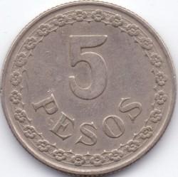 Moneta > 5pesai, 1939 - Paragvajus  - reverse