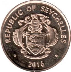 Монета > 5центов, 2016 - Сейшелы  - obverse