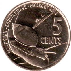 Монета > 5центов, 2016 - Сейшелы  - reverse