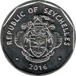Монета > 5рупий, 2016 - Сейшелы  - obverse