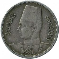 Moneta > 2piastry, 1937-1942 - Egipt  - obverse
